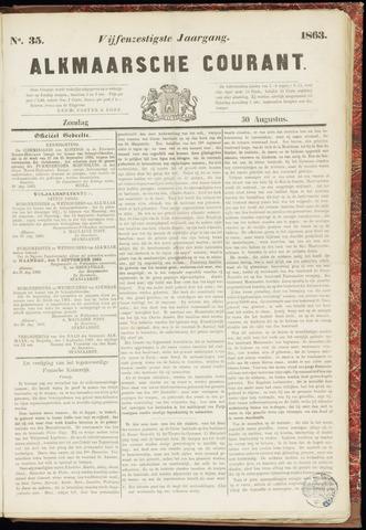Alkmaarsche Courant 1863-08-30