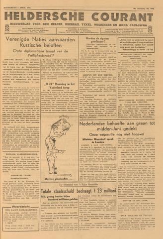 Heldersche Courant 1946-04-04