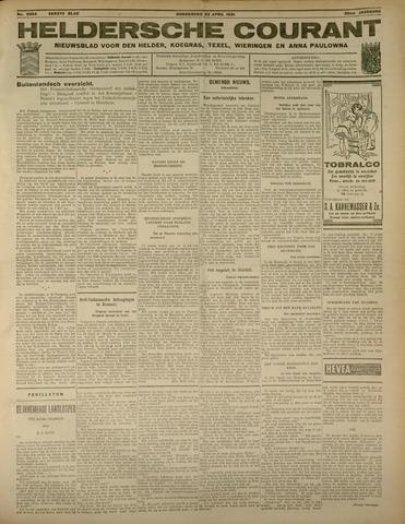 Heldersche Courant 1931-04-23