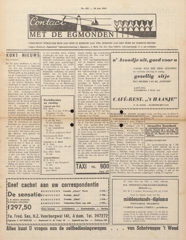 Contact met de Egmonden 1965-06-30