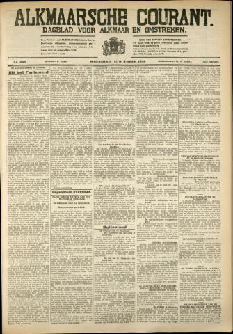 Alkmaarsche Courant 1930-10-15