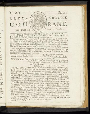 Alkmaarsche Courant 1808-10-24