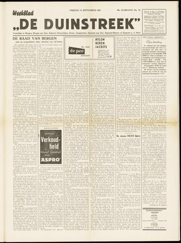 De Duinstreek 1962-09-14