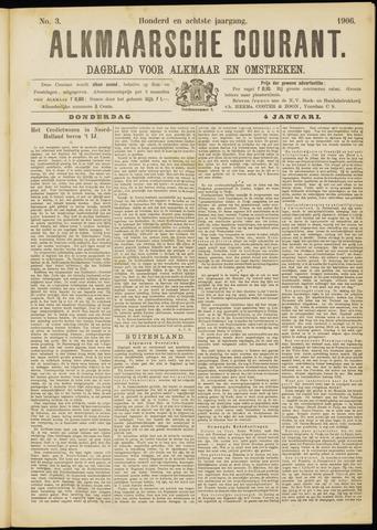 Alkmaarsche Courant 1906-01-04