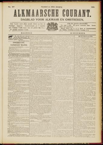 Alkmaarsche Courant 1909-12-20