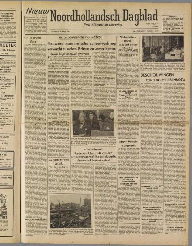 Nieuw Noordhollandsch Dagblad : voor Alkmaar en omgeving 1947-04-26