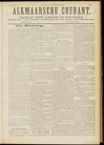 Alkmaarsche Courant 1915-08-03