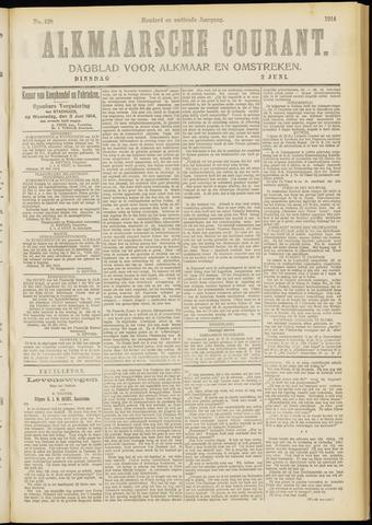 Alkmaarsche Courant 1914-06-02
