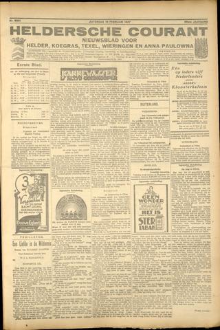 Heldersche Courant 1927-02-19