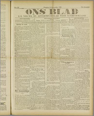 Ons Blad : katholiek nieuwsblad voor N-H 1920-09-14