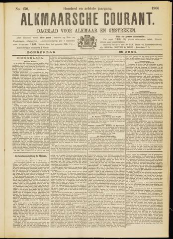 Alkmaarsche Courant 1906-06-28