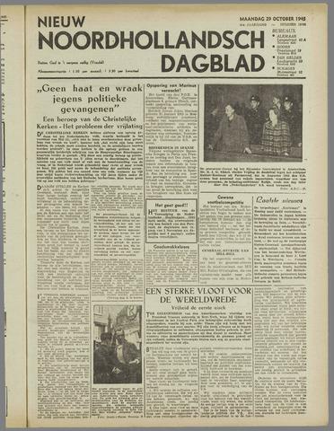 Nieuw Noordhollandsch Dagblad : voor Alkmaar en omgeving 1945-10-29