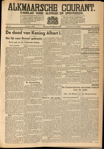Alkmaarsche Courant 1934-02-20