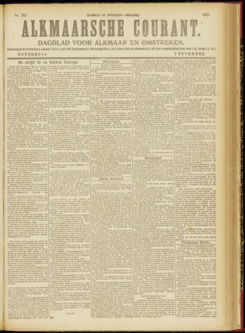 Alkmaarsche Courant 1918-11-07