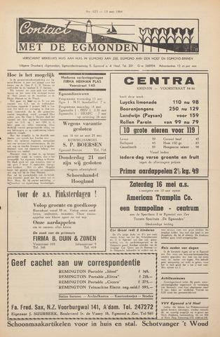 Contact met de Egmonden 1964-05-13