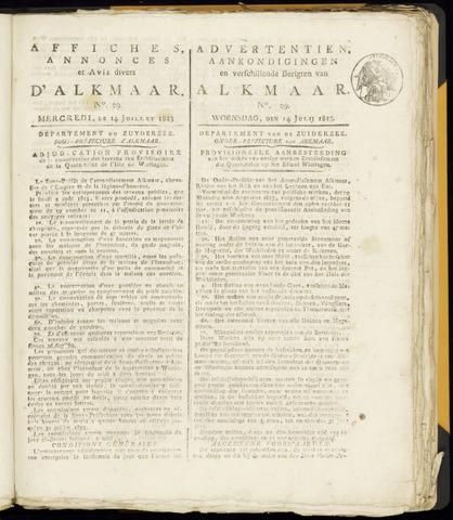 Alkmaarsche Courant 1813-07-14