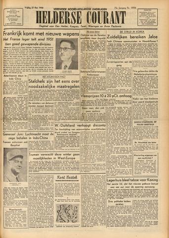 Heldersche Courant 1950-10-27
