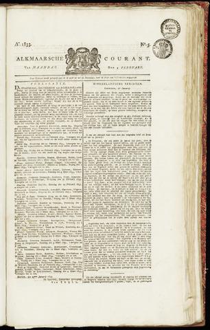 Alkmaarsche Courant 1833-02-04
