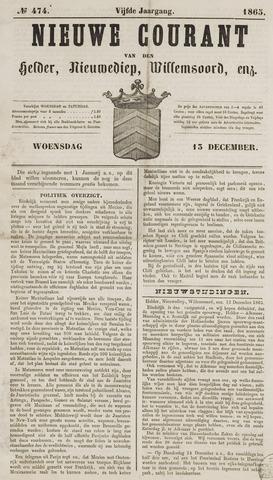 Nieuwe Courant van Den Helder 1865-12-13
