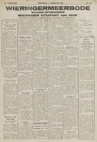 Wieringermeerbode 1942-02-11