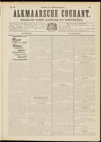 Alkmaarsche Courant 1911-01-24