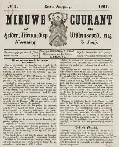 Nieuwe Courant van Den Helder 1861-06-05