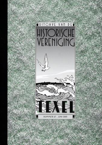 Uitgave Historische Vereniging Texel 2003-06-01