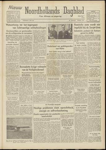 Nieuw Noordhollandsch Dagblad : voor Alkmaar en omgeving 1948-06-03