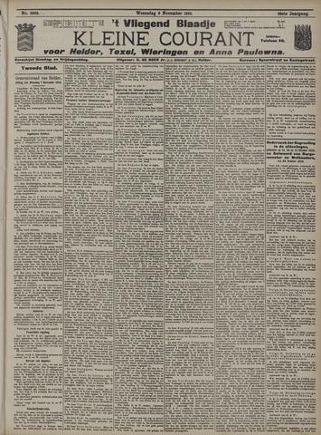 Vliegend blaadje : nieuws- en advertentiebode voor Den Helder 1910-11-09
