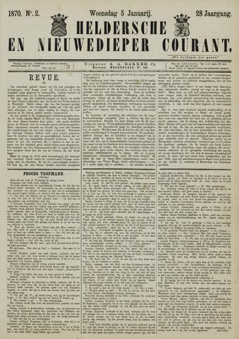 Heldersche en Nieuwedieper Courant 1870-01-05