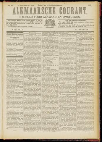 Alkmaarsche Courant 1919-08-27