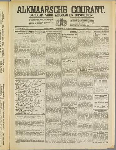 Alkmaarsche Courant 1941-07-01