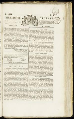 Alkmaarsche Courant 1841-02-01