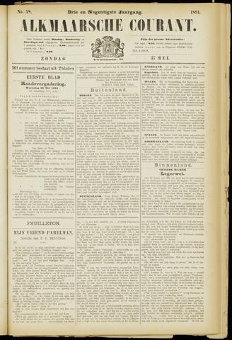 Alkmaarsche Courant 1891-05-17