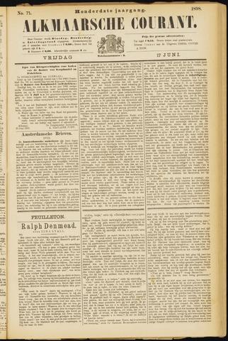 Alkmaarsche Courant 1898-06-17