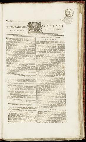Alkmaarsche Courant 1831-09-12
