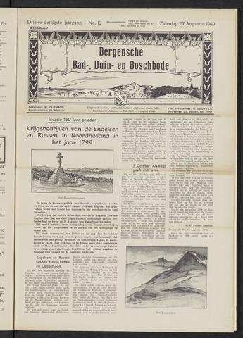 Bergensche bad-, duin- en boschbode 1949-08-27