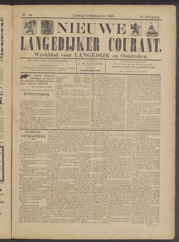 Nieuwe Langedijker Courant 1896-09-20