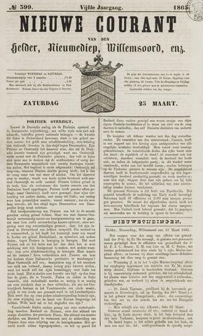 Nieuwe Courant van Den Helder 1865-03-25