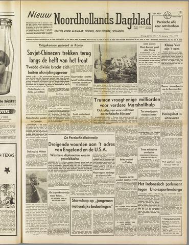 Nieuw Noordhollandsch Dagblad : voor Alkmaar en omgeving 1951-05-22