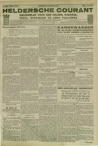 Heldersche Courant 1931-02-19
