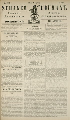Schager Courant 1883-04-12