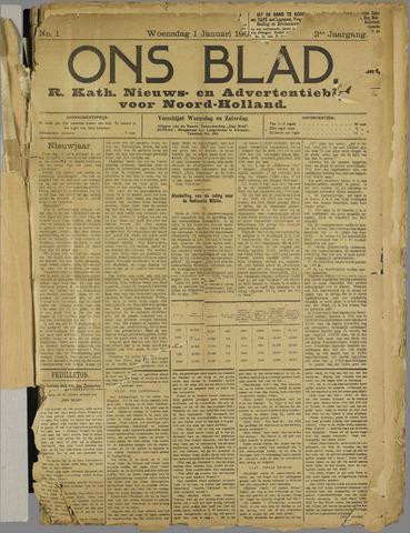 Ons Blad : katholiek nieuwsblad voor N-H 1908-01-01