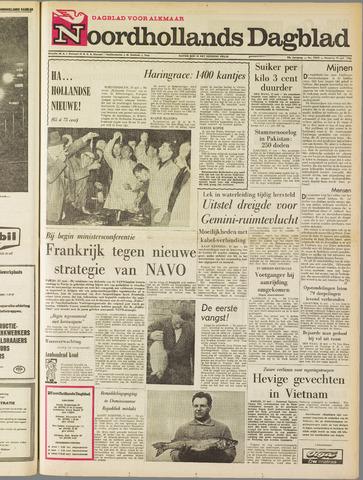 Noordhollands Dagblad : dagblad voor Alkmaar en omgeving 1965-05-31
