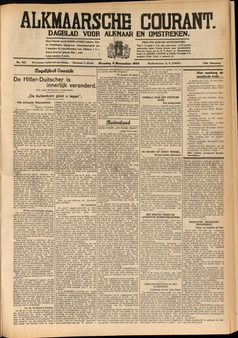 Alkmaarsche Courant 1934-11-06