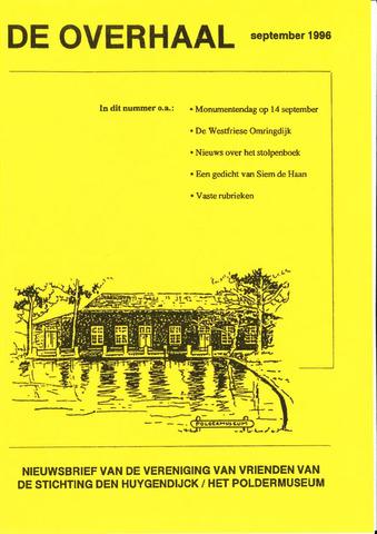 De Overhaal: historisch magazine Heerhugowaard 1996-09-01