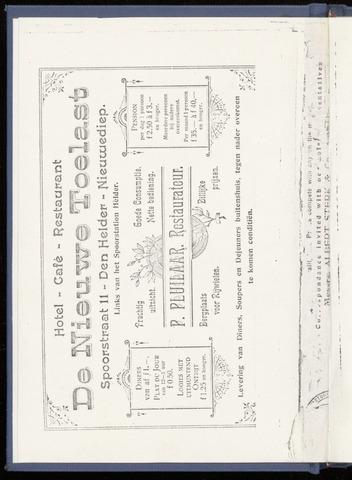 Adresboek van Den Helder 1906-01-01