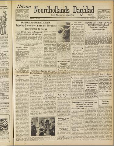 Nieuw Noordhollandsch Dagblad : voor Alkmaar en omgeving 1947-07-08