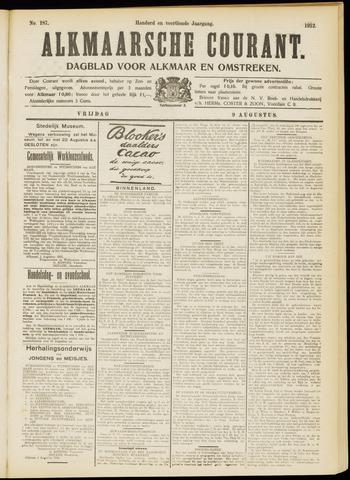 Alkmaarsche Courant 1912-08-09