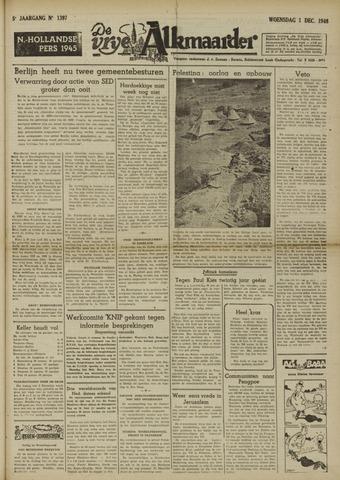 De Vrije Alkmaarder 1948-12-01